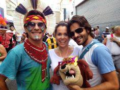 Val Junior, Patrícia Pessini e Rafael Albiero no Chupa Que É De Uva A Festa dos BLOCOS DE CARNAVAL em Jundiaí