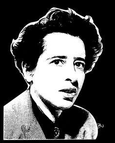 """""""O poder só é efetivado enquanto a palavra e o ato não se divorciam, quando as palavras não são vazias e os atos não são brutais, quando as palavras não são empregadas para velar intenções, mas para revelar realidades, e os atos não são usados para violar e destruir, mas para criar novas realidades"""".  Hannah Arendt - Filósofa Ⓐlemã (1906-1975)"""