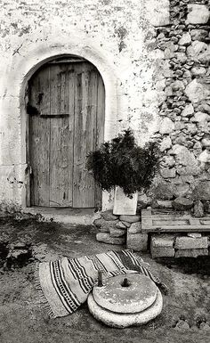 Traditional old house-Crete, Greece Greece Photography, Crete Island, Crete Greece, Famous Photographers, Acropolis, Ancient Greece, Greek Islands, Athens, Old Photos