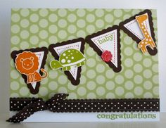 Baby Friends by stampin'studio - Cards and Paper Crafts at Splitcoaststampers