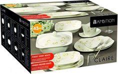 Étkészlet 43 részes Claire AMBITION Ambition, Claire, Container, Shapes, Food, Meal, Eten, Meals