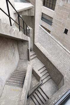 """arch-and-shit: """" Photographer highlight: aquillar """" The former 1933 slaughterhouse in Shanghai, now a 'creative hub'. Exterior Stairs, Interior Exterior, Infj, Escher Stairs, Shanghai, Wood Garage Doors, Concrete Stairs, Concrete Structure, Stairway To Heaven"""
