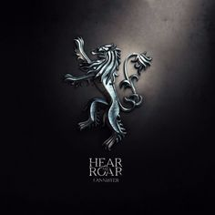 Art From Game Of Thrones - Sigil Of House Lannister - Hear Me Roar - Buy A3 Poster   Starting from Rs. 199