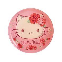 Assiette à dessert enfant rose 20 cm Hello Kitty Rose Passion LUMINARC