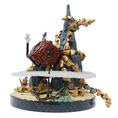 https://flic.kr/p/npL6j9 – What could be cooler than a Steampunk-Lego-Kraken-Home? Nothing ;) #steampunk #lego