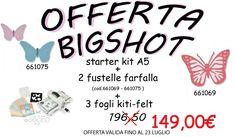 #bigahot #fustellato #promozione #sconto