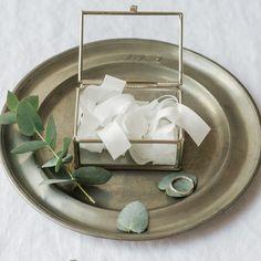 Weiteres - Silbernes Ringkästchen personalisiert - ein Designerstück von Ohsopretty bei DaWanda