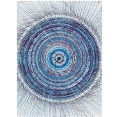 Damien Hirst  UNTITLED (SPIN DRAWING) Dimensions:  30 by 22 in. 76.2 by 55.9 cm - pastel, acrylic ink, wax pastel, glitter, felt-tip pen and coloring pencil on paper - 2003