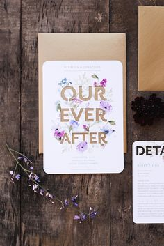 The premium, floral laser cut wedding invitations inspired this fabulous shoot. From youthful spring wedding colors to angelic butterflies, we have fallen in love with this sweet fairytale inspiration.
