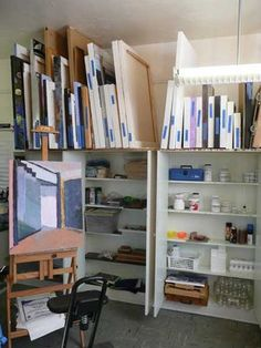 At last...making art full-time: Organizing Space, Saving Sanity