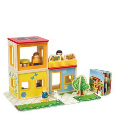 Look what I found on #zulily! City Family Play Set by Hape Toys #zulilyfinds