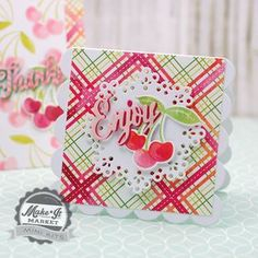Enjoy Mini Card by Betsy Veldman for Papertrey Ink (June 2015)