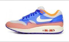 Nike WMNS Air Max 1 Hyperfuse Hyper Blue/Total Crimson