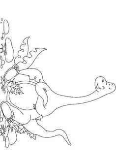 Plateosaurus dinosaurs coloring pages  Crafts Parties DINOSAUR