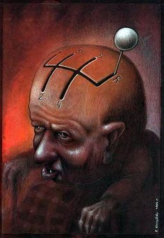 Pawel Kuczynski, a Polish artist has worked in satirical illustration specialising in thought-provoking images that make his audience question their everyday lives. Mind Unleashed, Satirical Illustrations, Political Art, Question Everything, Some Pictures, Thought Provoking, Illustrators, Illustration Art, Artsy