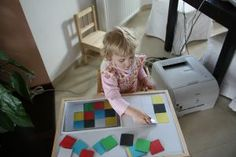 Skladani barev dle predlohy