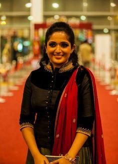 So so adorable Churidar Designs, Kurti Neck Designs, Kurti Designs Party Wear, Saree Blouse Designs, Party Wear Indian Dresses, Indian Gowns Dresses, Indian Designer Suits, Slim Fit Dresses, Fat Women