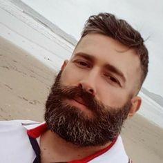 Hot Beards, Great Beards, Awesome Beards, Beard Styles For Men, Hair And Beard Styles, Hairy Men, Bearded Men, Chubby Men, Beard Game