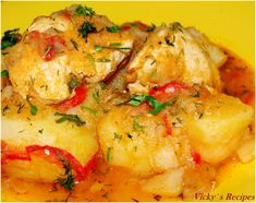 Potato Recipes, Curry, Potatoes, Meat, Chicken, Ethnic Recipes, Food, Drink, Chef Recipes