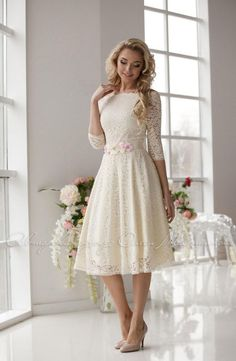 Delicate laced dress Milk, milky lace, very soft and pleasant to the skin. Midi dress Available colors: milky white black red The belt not included Color: milky white; Category: Clothing, Womens Clothing, Dresses Materials: guipure I