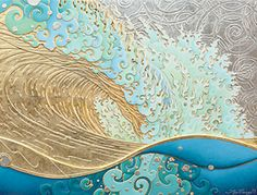 Kaihalulu, roaring sea by Troy Carney