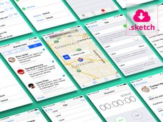 Sketch App Sources - Free design resources and plugins - Icons, UI Kits, Wireframes, iOS, Android Templates for Sketch Sketch Software, Ui Prototyping, Mobile Ui Design, Ios 7, Graphic Design Projects, Ui Inspiration, User Interface Design, Ui Kit, App Development