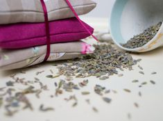 Gingham Lavender Bundle Natural. Beautiful french lavender - love this smell!