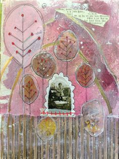 Art journal page by @Stacie Pitman Rife (who is the best!)
