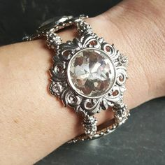 Check out this item in my Etsy shop https://www.etsy.com/listing/497827606/prom-bracelet-bridal-jewelry-ren-faire