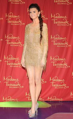 """Selena Gomez from Celeb Wax Figures  The """"Come and Get It"""" singer gets the wax treatment at Madame Tussaud's Hollywood location."""