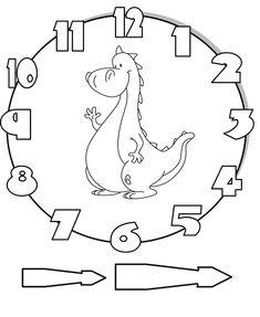 Math Clock, Clock Craft, Math Classroom, Classroom Decor, Laser Cutter Ideas, Activity Box, Led Wall Clock, School Clipart, Gifts For Office