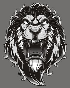 """2,629 To se mi líbí, 36 komentářů – Jared Mirabile (@sweyda) na Instagramu: """"Finished lion illustration. Part of a merch piece but I like seeing the work stand on its own.…"""""""