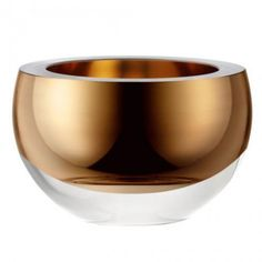 LSASchale Host 15cm, goldfarben