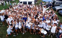 Recently picked as the #1 Tailgating school in the country by University Prime, Penn Staters young and old know how to throw an awesome pre-game tailgate. From the moment the lots open to well after the game, the fields surrounding Beaver Stadium become a sea of blue and white tents.