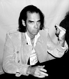 I say good day, sir. Indie Music, Music Icon, Red Right Hand, The Bad Seed, Nick Cave, Post Punk, Lineup, Singer, Actors