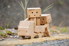 Cute Cardboard People
