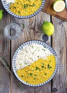 (Vegan) Pumpkin Chickpea Curry
