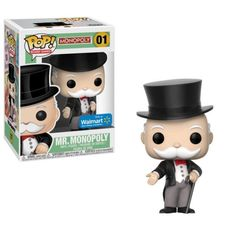 Monopoly (or Uncle Pennybags if you prefer) is getting his own POP! This will be the first in the POP! Board Games line. Funko Pop Dolls, Funko Pop Figures, Pop Vinyl Figures, Funk Pop, Toy Art, Funko Pop Marvel, Otaku, Pop Figurine, Pop Toys