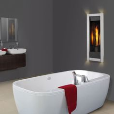 Napoleon The Torch Direct Vent Gas Fireplace