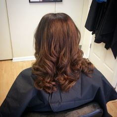 Dimensional balayage, matrix hair color by Nichole at NC hair studio