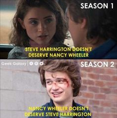 """35 Stranger Things Memes To Celebrate Season 3 (SPOILERS) - - 35 Stranger Things Memes To Celebrate Season 3 (SPOILERS) - Funny memes that """"GET IT"""" and want you to too. Get the latest funniest memes and keep up what is going on in the meme-o-sphere. Letras Stranger Things, Stranger Things Quote, Stranger Things Have Happened, Stranger Things Steve, Stranger Things Aesthetic, Stranger Things Netflix, Stranger Things Spoilers, Steve Harrington Stranger Things, Stranger Things Season 3"""