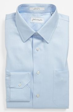 #John W. Nordstrom        #Tops                     #John #Nordstrom #Traditional #Dress #Shirt #Blue   John W. Nordstrom Traditional Fit Dress Shirt Blue 16 - 36                                              http://www.snaproduct.com/product.aspx?PID=5124797