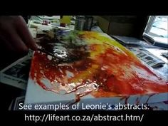 Learn How to Paint Abstract Art Lessons - Art Ideas - Art Techniques - YouTube
