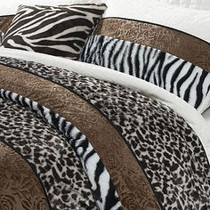 Комплект постельного белья из 3-х предметов с животным принтом – RUB p. 3 492,03