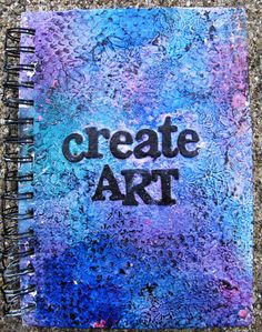 Art journal cover by Misty Russell