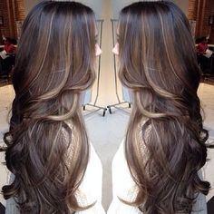 brunette•balayage - perfection!