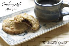Cranberry Apple Mini Pies - so fun and delicious!