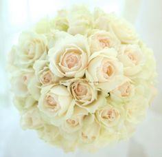 ブーケ ラウンド プリンセス・オブ・ウェールズの画像:一会 ウエディングの花