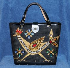 Vintage Rare Enid Collins Roadrunner II Purse Handbag W/Original Cover Bag Wow! | eBay