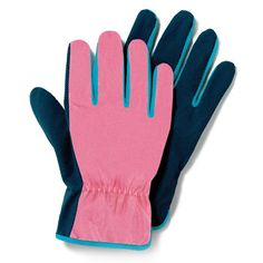 """Helping hands!Protect your hands in style with spring printed gardening gloves. Esay to grip, dig and other uses while taking care of your garden. These pink gardening gloves are polyester with easy-gripping palms to make every use of them simple and mess-free.FEATURES• Pair of polyester gloves with easy-grip palms• 9.5"""" x 4.5"""" each• One size fits mostMATERIALS• PolyesterCARE• Spot cleanTools of the Trade -- Shop the entire Blooming Collection #avon #gardening"""
